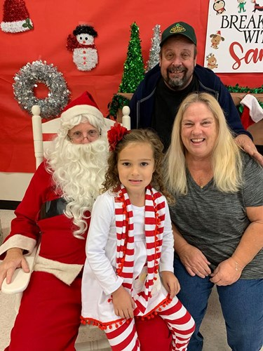 Family Time with Santa